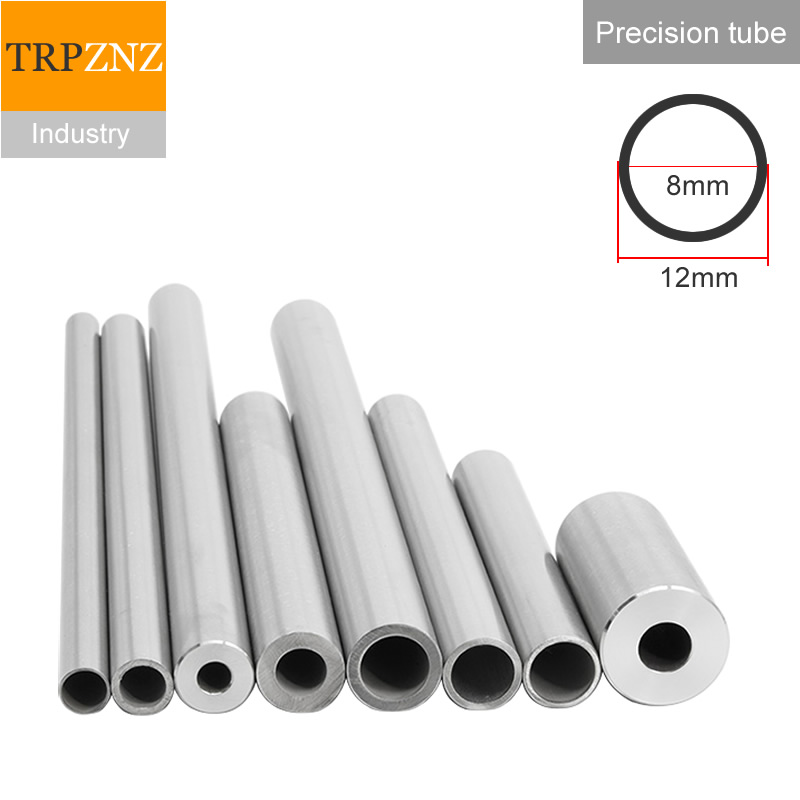 304 Stainless Steel Tube Precision Pipe ,OD12x2mm, Outer Diameter 12mm,wall Thickness 2mm,inner Diameter 8mm ,Sanitary Tube