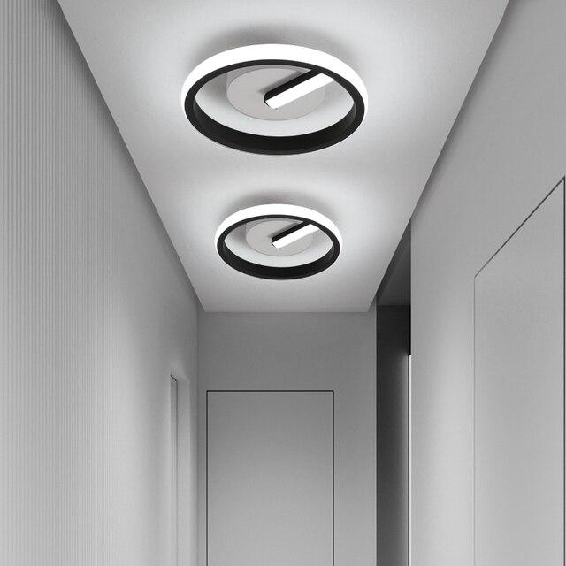 LICAN balkon lambası İskandinav modern minimalist vestiyer ev giriş kapısı koridor koridor yatak odası led tavan lambası
