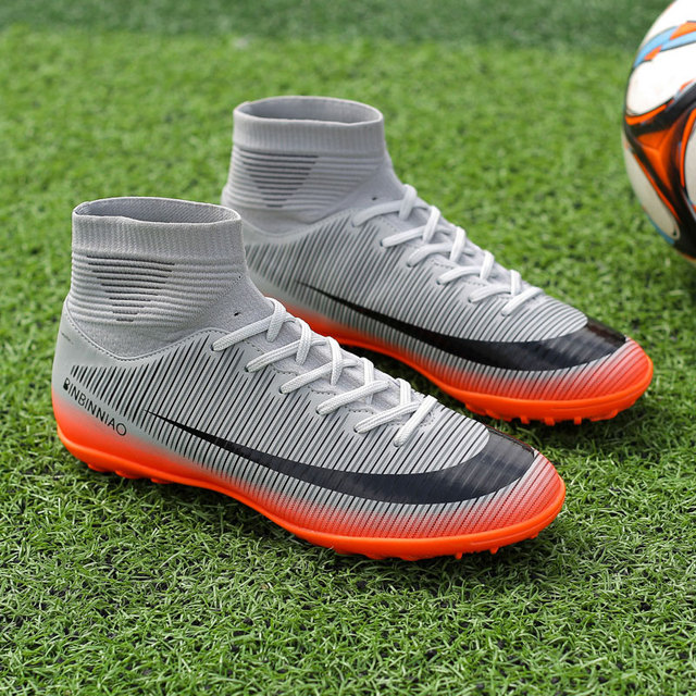 MWY Soccer Boots For Men Turf Tutsal Indoor Football Shoes Cleats Sneakers Botas De Futebol High Quality Comfort Training Shoes