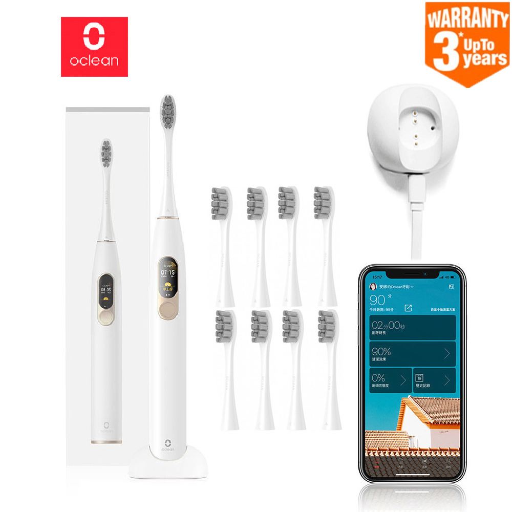 2019 Oclean X Sonic Electric Toothbrush Upgraded Adult Waterproof Ultrasonic Automatic Toothbrush USB Rechargeable