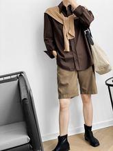 Осенняя Женская коричневая блузка рубашка 2020 женская топы