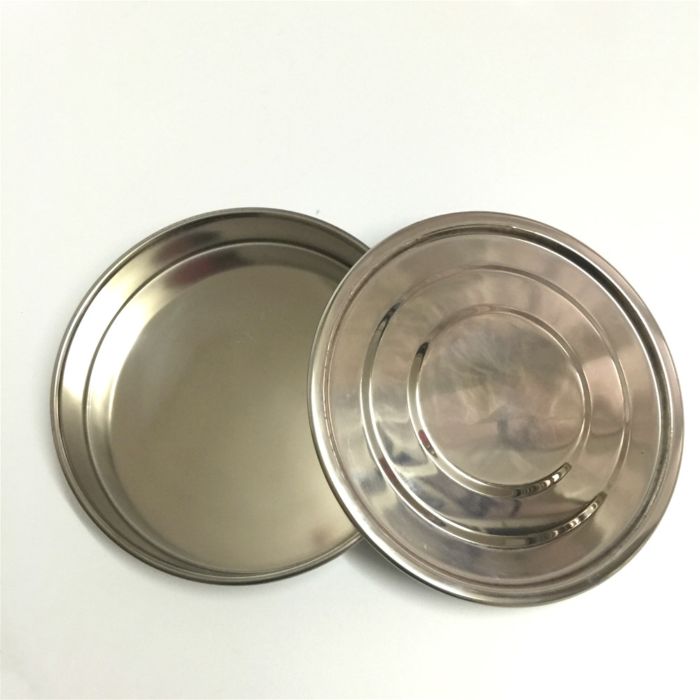 Lid And Bottom For Test Sieve Dia 20 cm 304 SUS Cover And Container For Laboratory Sampling Inspection Pharmacopeia Sieve