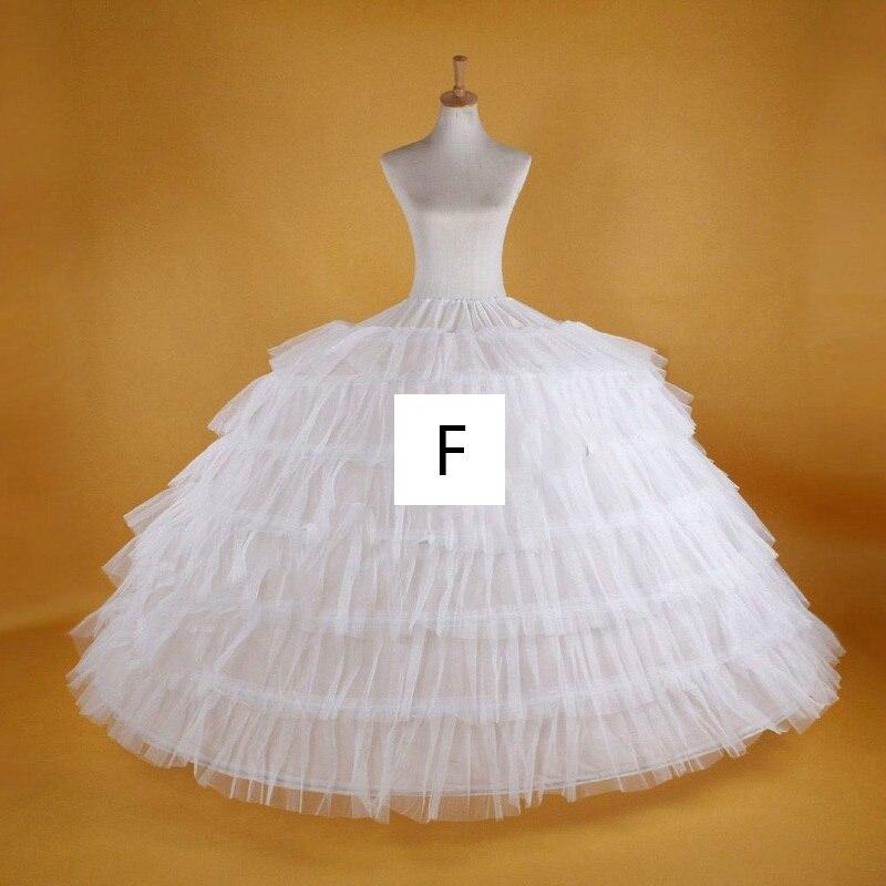 Underskirt Women Dress Hoop Wedding-Petticoat Tulle La-Boda Vestidos Bridal Formal White