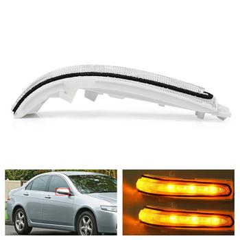 цена на Rearview Mirror LED Turn Signal Light Flash Lamp for Acrua TSX For ACCORD CM5 CM6 CL7 CL9 2002 2003 2004 2005 2006 2007 2008