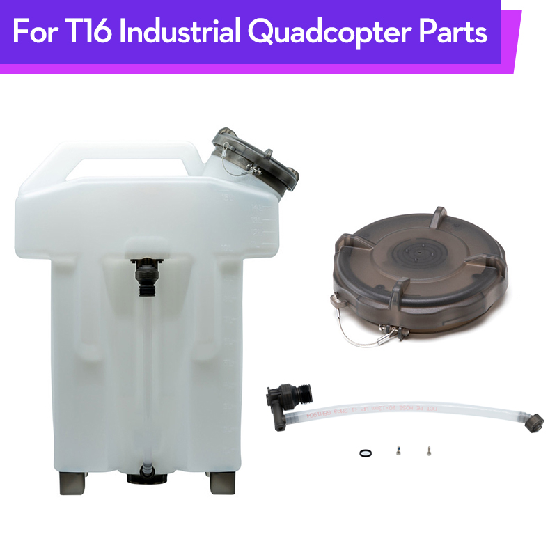 Original T16 RC Drone Water Tank Kit Cover Agricultural Plant Outlet Pipe For DJI T16 Industrial Quadcopter Parts