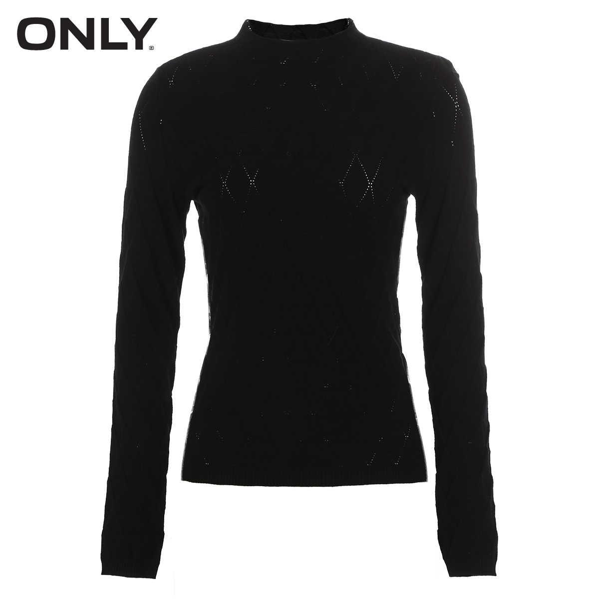Только Осень Новый полувысокий воротник с длинными рукавами свитер тонкий | 118324538