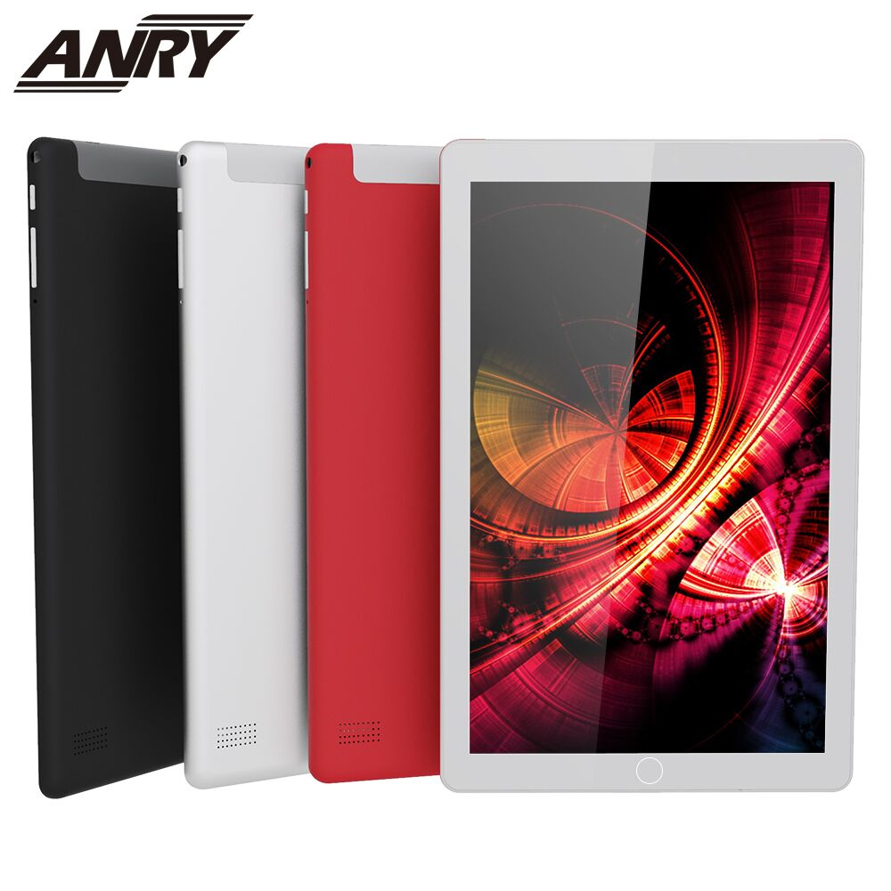 ANRY 10 Inch Tablet 3G Phone Call Quad Core 4GB RAM 32GB ROM 7.0 Android Tablet GPS WIFI 1280X800 IPS Best Children Gift