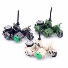 Brick-Toy Weapon-Parts-Accessories Building-Blocks SWAT Motorcycle-Moc Classic Military