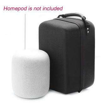 Hard EVA Travel Zipper Case Storage Bag Pouch for Apple HomePod Bluetooth Speaker фото