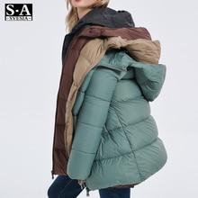 2020 Winter Woman Ultralight Down Jacket Hooded Thick Warm Coat Female Duck Down Parka For Women Portable Outerwear Overcoat