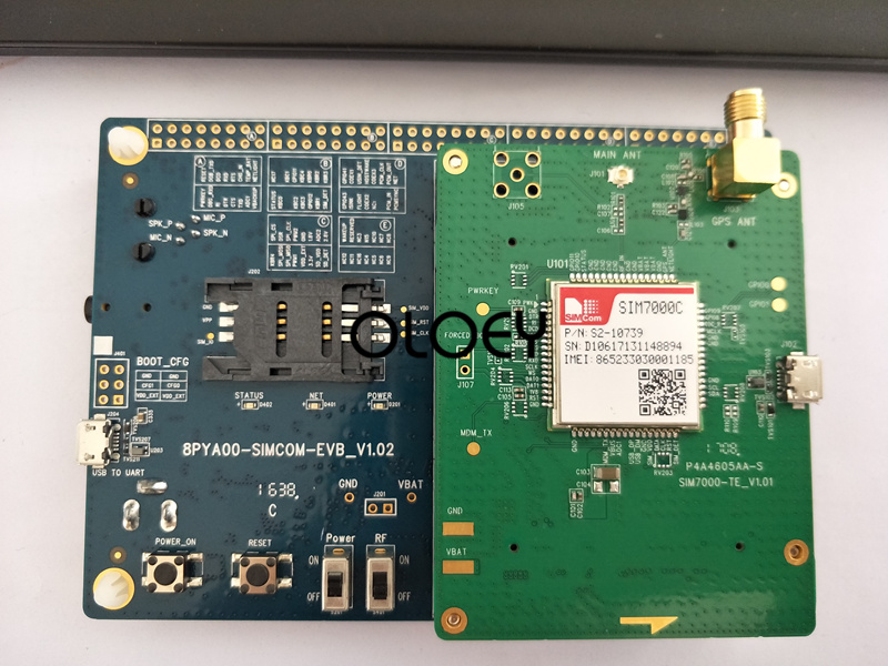 SIMcom SIM7000C  SIM7000E SIM7000G Original Development Board, NBIOT Development Board, 100% Brand New Original