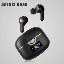 Novo tws fone de ouvido sem fio bluetooth in-ear toque baixo estéreo de alta fidelidade música fone de ouvido com 4 mic para pk ar 3 pro i9000 ar 2