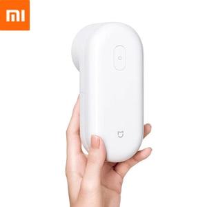 Image 1 - Xiaomi Mini podadora de bolas para el pelo Mijia, removedor de pelusas de malla eléctrica, recortador de pelusas, Micro USB, recargable para ropa, suéter