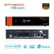 Gtmedia V8 NOVA Satellite TV Empfänger DVB-S2 Scart Unterstützung Europa ccam Gebaut in Wifi TV Box Freesat Satellite Decoder