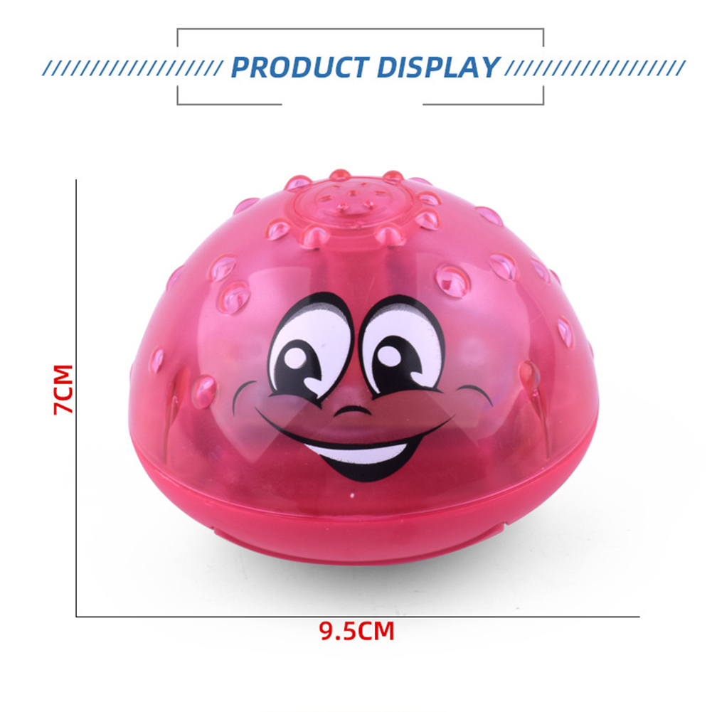 Hot selling Lovely LED Flashing Bath Toys Musical Ball Water Squirting Sprinkler Baby Bath Shower Kids Toys