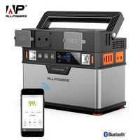 ALLPOWERS 110V ~ 230V Power Bank Pure Sine Wave generador portátil de energía Estación de alimentación coche refrigerador TV Drone teléfonos portátiles.