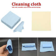 Portable Pure 100Pcs/Pack Sunglasses Cloth 6*8CM Cleaning Glasses Mobile Phone Screen Glass Lens Cleaner Eyewear Accessory