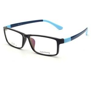Image 2 - CUBOJUE 150 ミリメートル特大メガネ男性女性眼鏡フレームワイド顔処方箋ハイグレートアセテートテンプル眼鏡 TR90 近視視度眼鏡