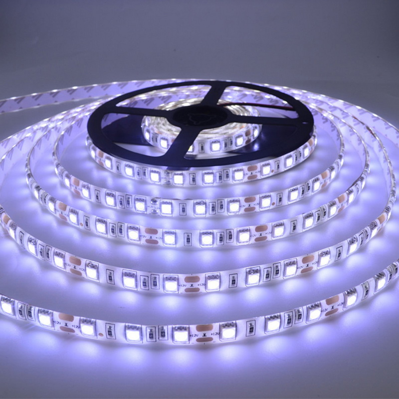 5M 300LEDs LED Strip Light Super Bright 3528 SMD Rgb Lighting Set Non-Waterproof Strips Light Ribbon Flexible DC 12V