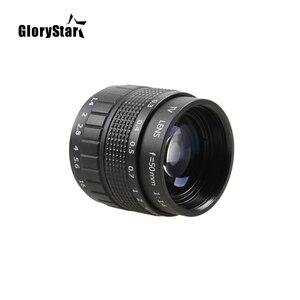 Image 5 - Объектив GloryStar 50 мм F1.4 CC для телевизора, кинообъектива, C Mount, макросъемки, кольцо для Canon EOS, EF, EFS, DSLR камеры 5D 6D, 7D, II, III, 70D, 80D, C EOS