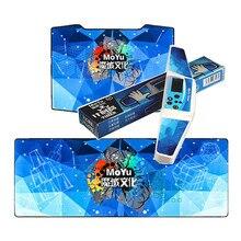 Moyu küp zamanlayıcı rekabet küp Mat hız sihirli küp eğitim mat bulmaca cubo magico oyun özel zamanlayıcı mat