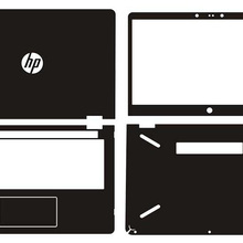 Laptop Sticker Skin Decal Carbon fiber Cover for HP pavilion