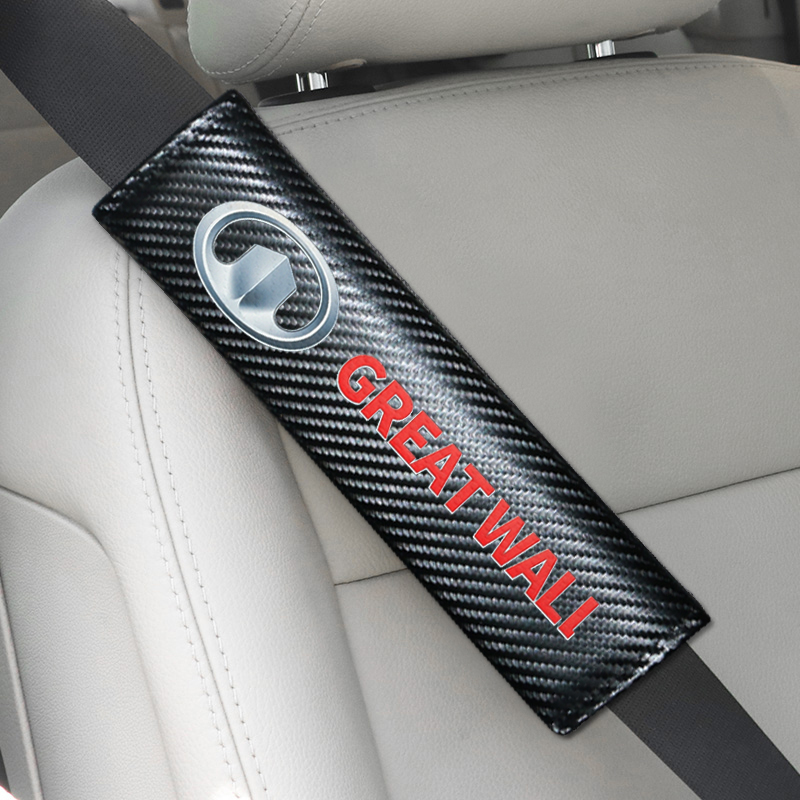 2pcs Car Accessories Seat Belt Cover Car Styling For Great Wall Haval Hover H3 H5 Car Styling