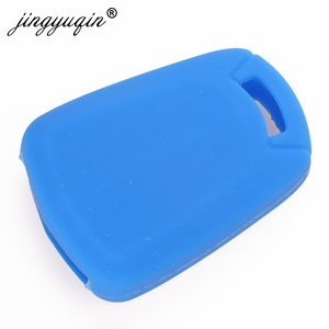 Image 3 - jingyuqin 2Button Silicone Remote Key Case For Vauxhall /Opel Corsa D ASTRA H Meriva Vectra Zafira Signum Agila Fob Cover Holder