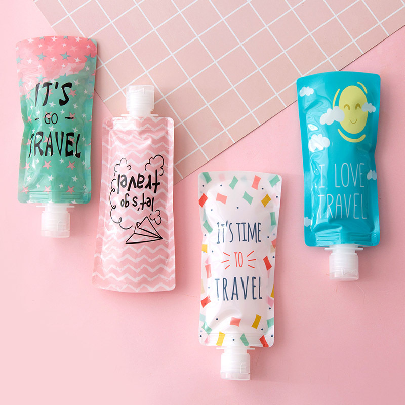 1 Pcs 90ml Empty Plastic Portable Tubes Squeeze Cosmetic Cream Lotion Travel Bottle In Stock Container Makeup Filling Pvc