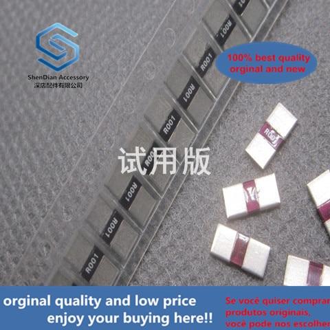 30pcs 100% Orignal New SMD Alloy Resistor 2512 R001 0.001R 1% 2W RL-3264-9-R001-FNH