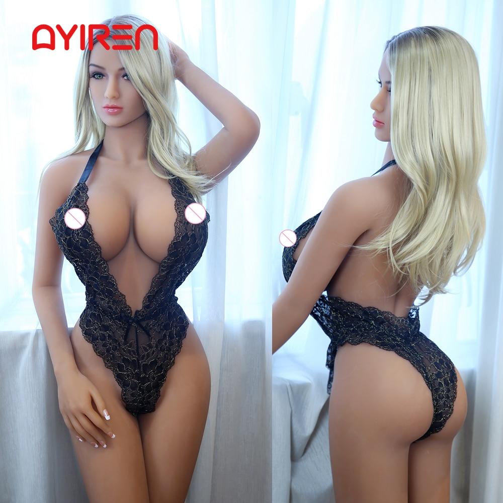 AYIREN Hot Sale 165cm Sex Dolls Silicone Europe Women Big Breast Mini Vagina Oral Anal Lifelike Adult Doll For Men Sex Toys