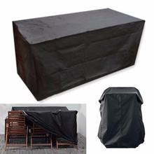 8 Size Outdoor Waterproof Furniture Dustproof Cover Patio Protective Cover Garden Furniture Rain Snow Cover for Table Chair cheap ISHOWTIENDA New Classical Post-modern Polyester Cotton Waterproof Rain Snow Cover new arrive hot sale drop shipping high quality