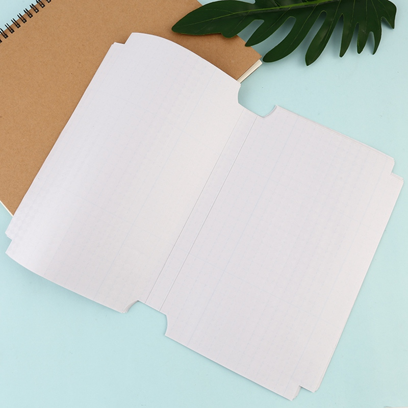 10sheets/set Hot Sale Transparent Self-adhesive Film Book Cover Slipcase Safety Waterproof Material For School Students