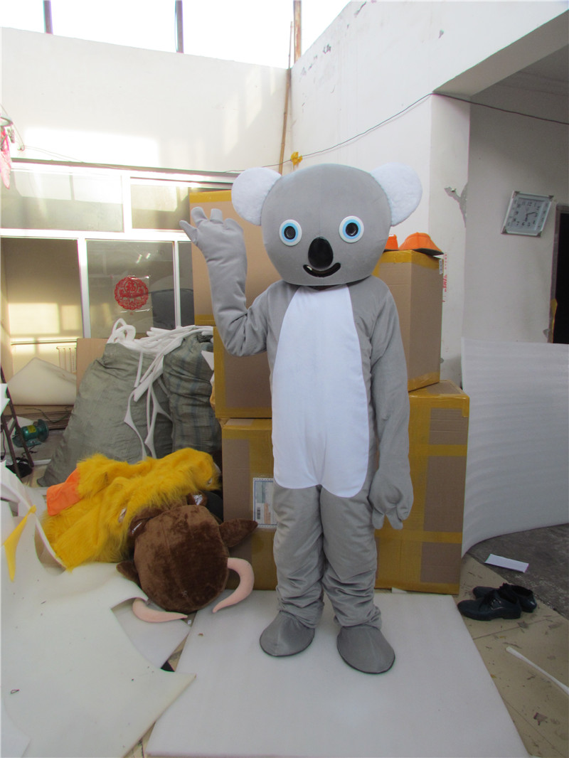 New Version Smart Baby Koala Mascot Costume Adult Birthday Party Fancy Dress Halloween Cosplay Outfits Clothing Xmas
