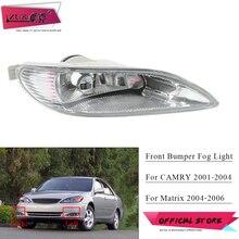 ZUK 프론트 범퍼 Foglight Foglamp For TOYOTA CAMRY 2001 2004 매트릭스 2004 2006 전면 안개등 안개등 81221 AA010 81211 AA010
