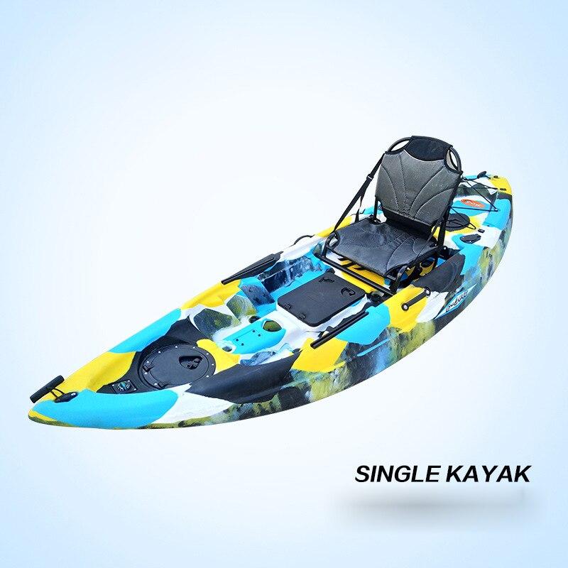 Single Platform Boat Single Kayak Plastic Boat Rotomolding Kayak QSSOT27000-B