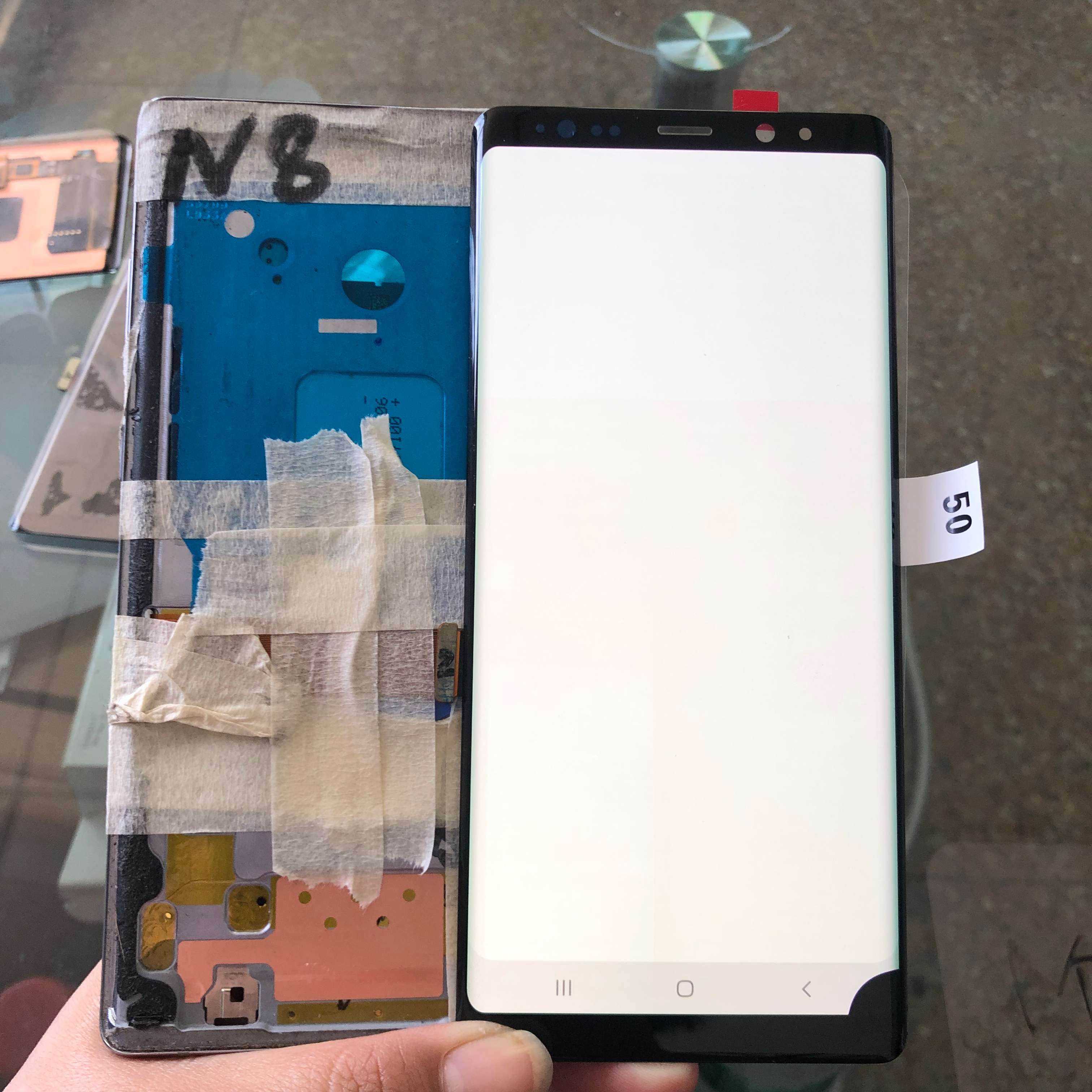 For Samsung Galaxy Note 8 N950 SM-N950A N950U N950F N950V With Black Spot Original Amoled LCD Display + Touch Screen Assembly