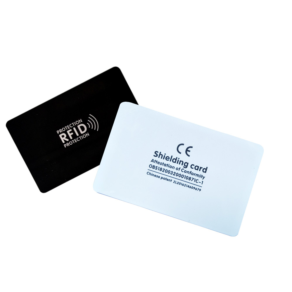 (5pcs/lot)RFID Anti-Theft Shielding Information Anti-theft Shielding Card Gift Module Anti-theft  Blocking Card