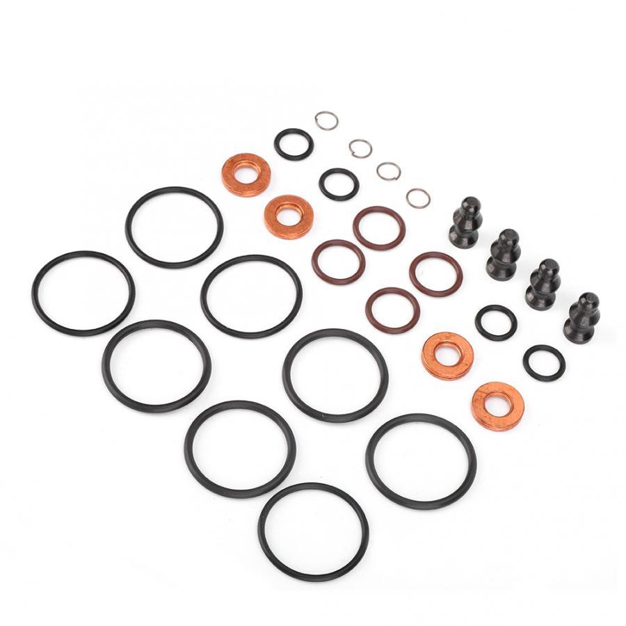 AUDI TDI PDE Genuine Bosch Injector Seal Kit 1417010997 038198051B X 4