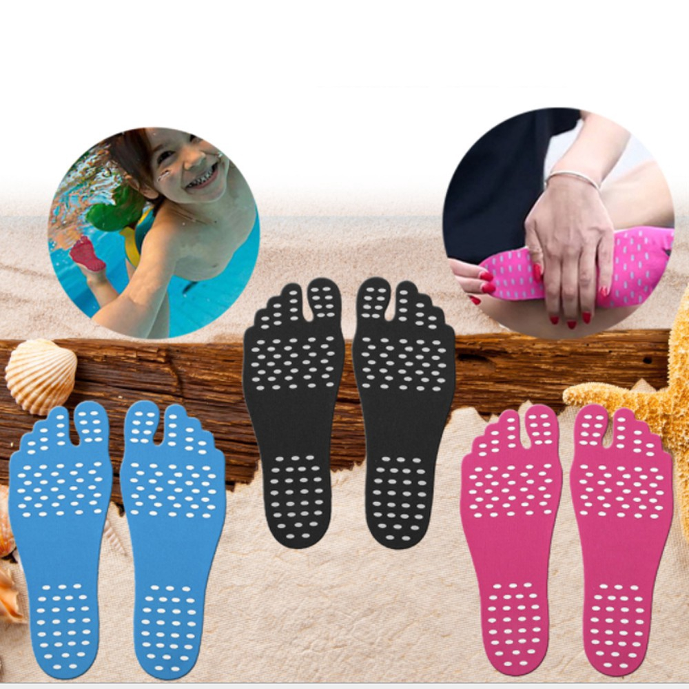 Foot Stickers Shoes Stick On Soles Sticky Pads Waterproof Hypoallergenic Adhesive Feet Pad Foot Care Feet