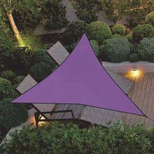 Waterproof Triangle Outdoor Garden Canopy Patio 3 Sizes Shade Net Sun Shade Sail