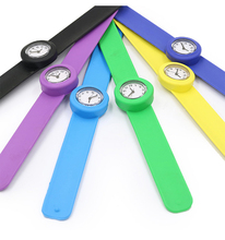 Creative Childrens Watches Cartoon Silicone Slap Strap Quartz Clock Colorful Kids Student Sport Wristwatch Gifts for Girls Boys