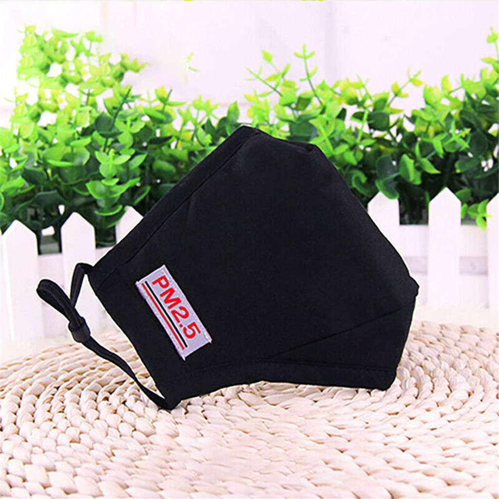 Unisex Mouth Mask Cotton Anti-Dust Reusable Splash Proof Mask High Quality Face Masks PM2.5 Windproof Foggy Haze Pollution Proof