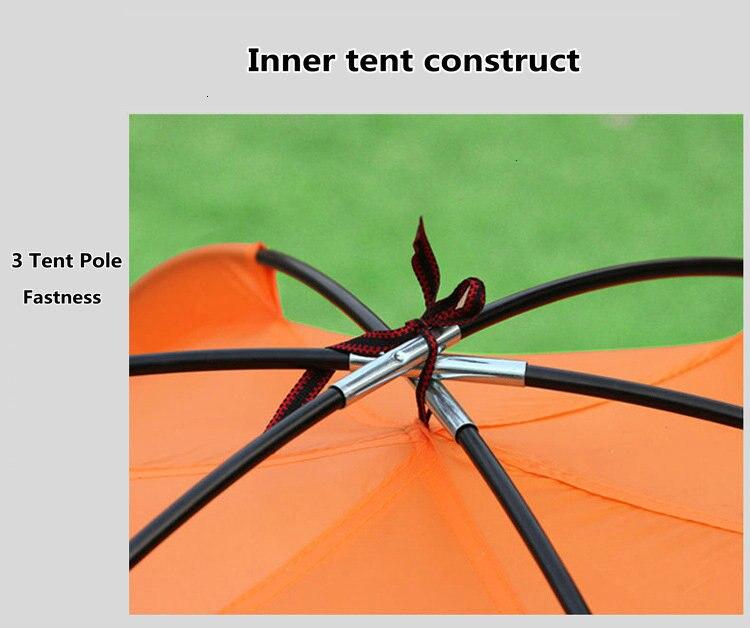 Mongolian Yurt Tent Fishing Mosquito Net Picnic Family Outdoor Camp Summer Beach Camping Tent 5 Person Waterproof (7)