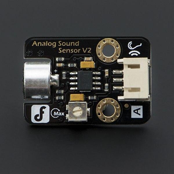 Free Shipping Make For DFrobot Arduino Electronic Building Blocks Analog Sensor MIC Sound Sensor Data Line