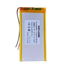 Li-Ion-Battery Tablet 3000mah for PDA DVR PC MP3 Mp4-Dvr GPS Speaker Toys 4055110 Rechargeable