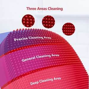 Image 2 - Inface Facial Cleansing Brush Upgrade Version Electric Sonic Silicone Face Brush Deep Cleansing Facial Cleanser
