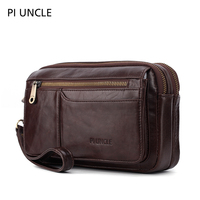 purses Genuine Leather Trend envelope bag men's hand bag men's hand bag hand bag wallet mini wallet