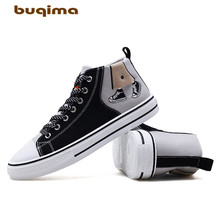 Buqima canvas shoes mens sneakers small white student autumn and winter models