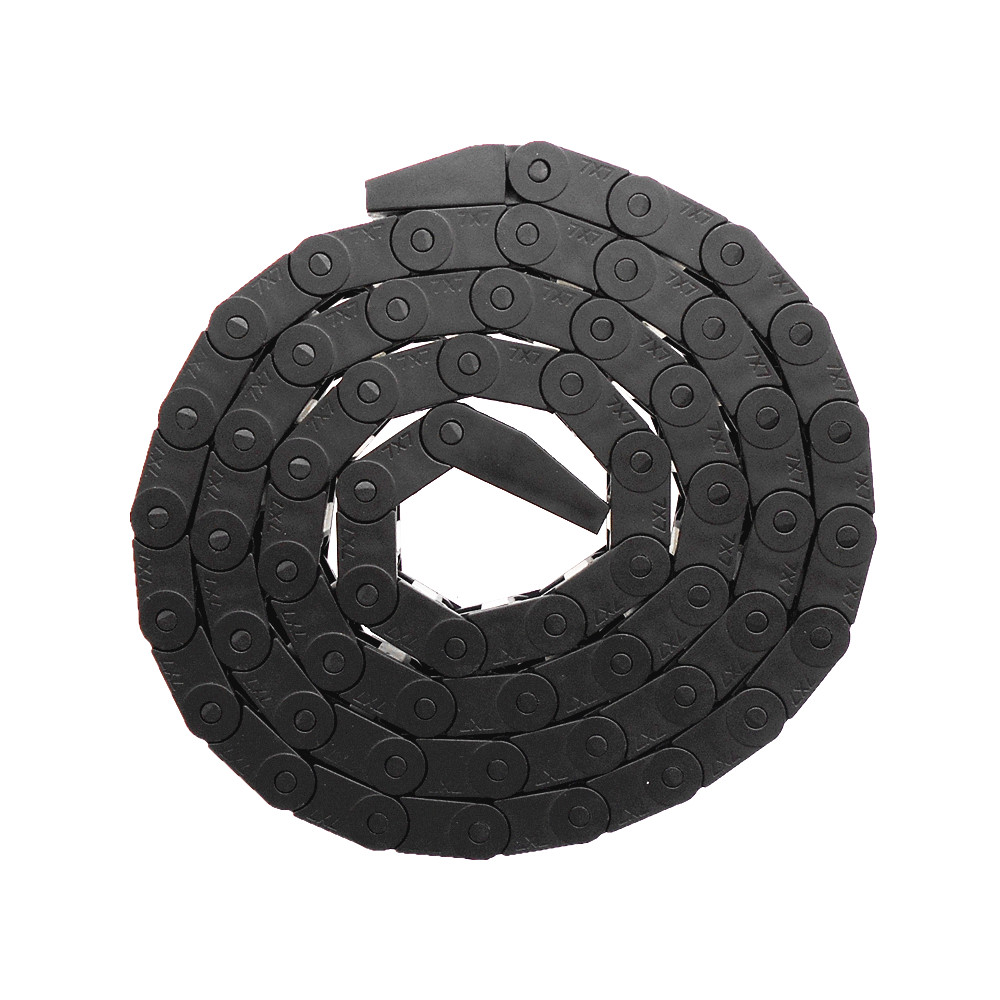 3D Printers Parts 1 meter Nylon plastic towline tank chain 7*7 10*10 mute cable bridge tow link head